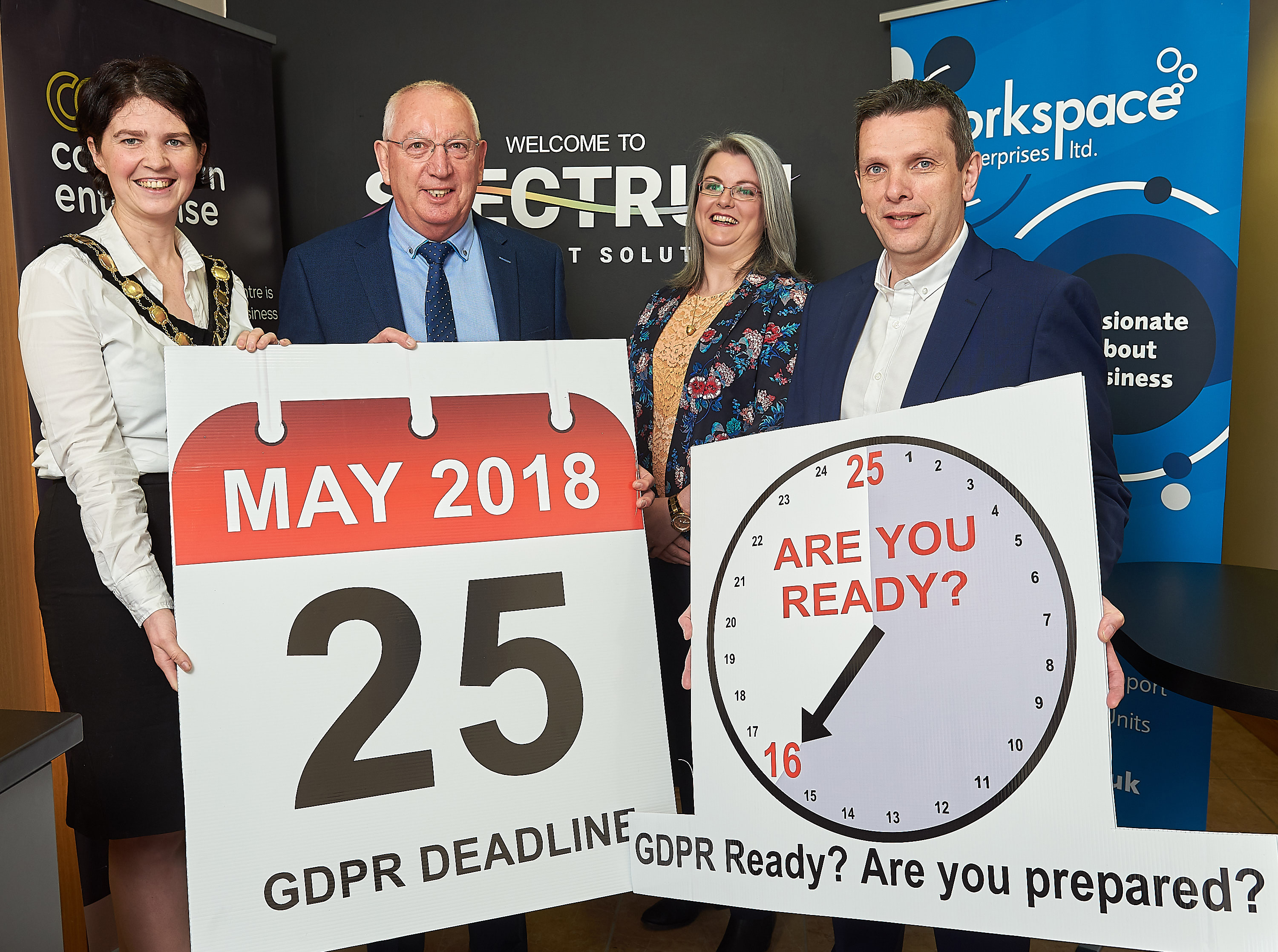 Free Seminar For Small Businesses To Be GDPR-Ready