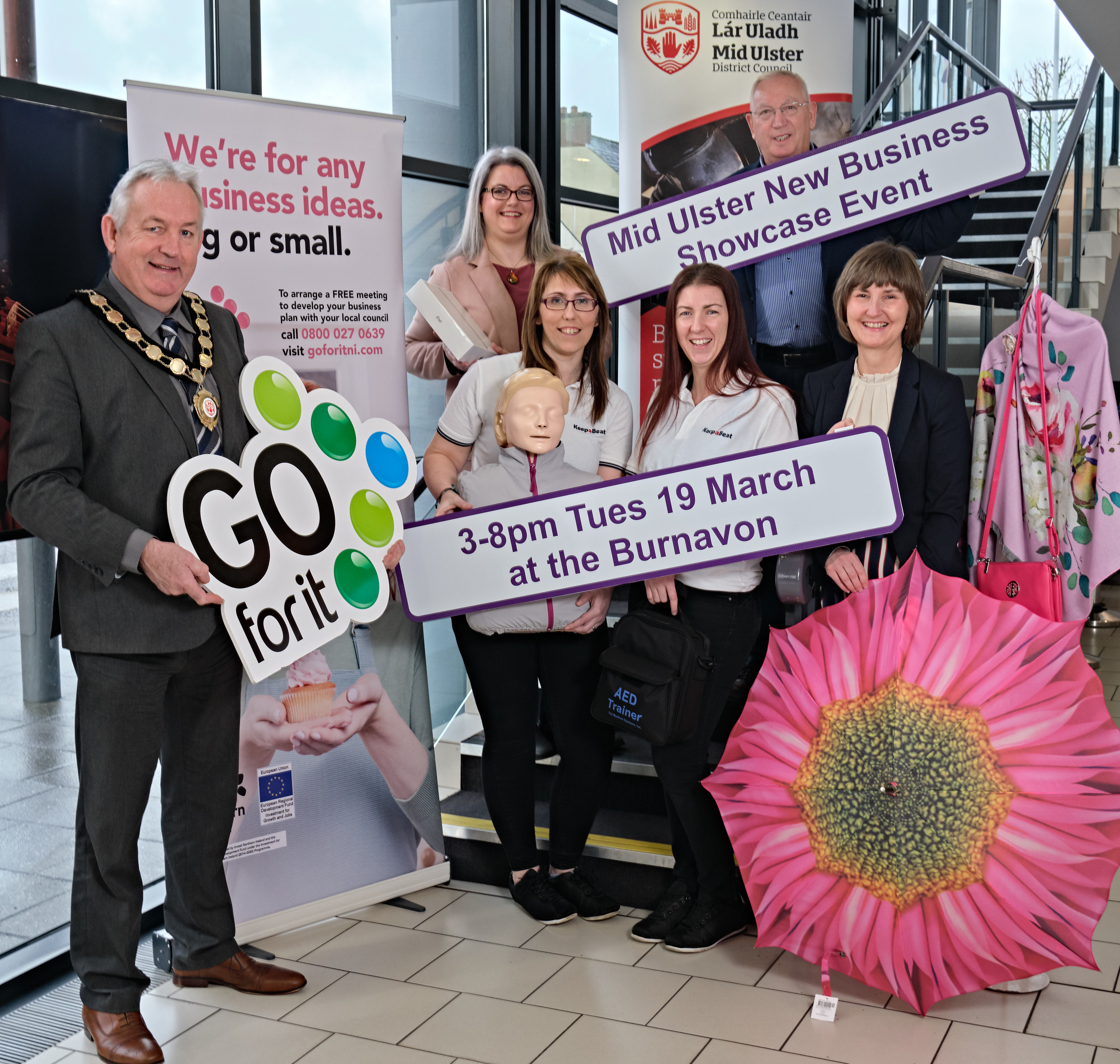 You're invited to the First New Business Showcase Event in Mid Ulster